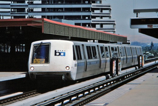 Check out public transportation. BART is a convenient way to travel the Bay Area. Don't expect your host to drive you.