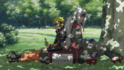 Jiraya & Naruto