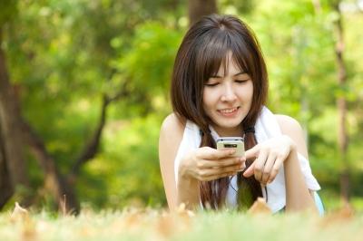 Cell phone treasure hunting