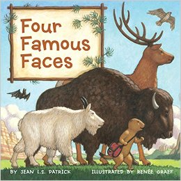 Four Famous Faces by Jean L.S. Patrick - Images are from amazon.com