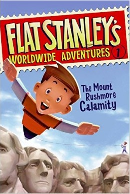 Flat Stanley's Worldwide Adventures #1: The Mount Rushmore Calamity by Jeff Brown - Images are from amazon.com