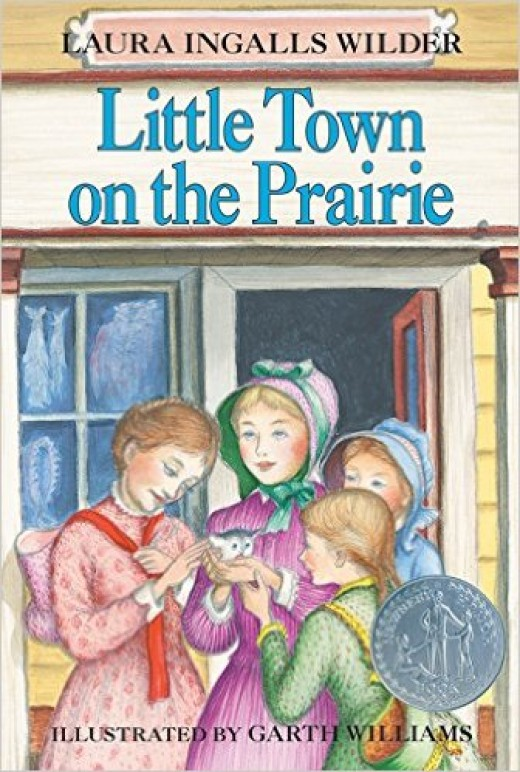 Little Town on the Prairie (Little House) by Laura Ingalls Wilder - Image is from amazon.com