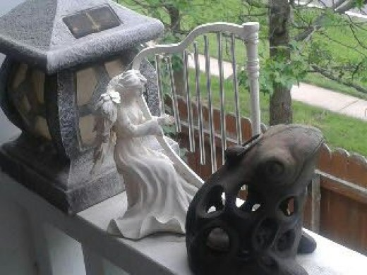 Angel and Frog
