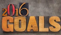 Achieve your goals in 2016.