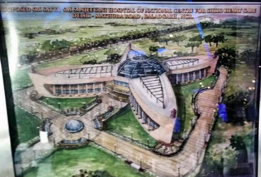 Proposed Sri Sathya Sai Sanjeevani International Center for Pediatric Cardiac Sciences and Research, Delhi - NCR