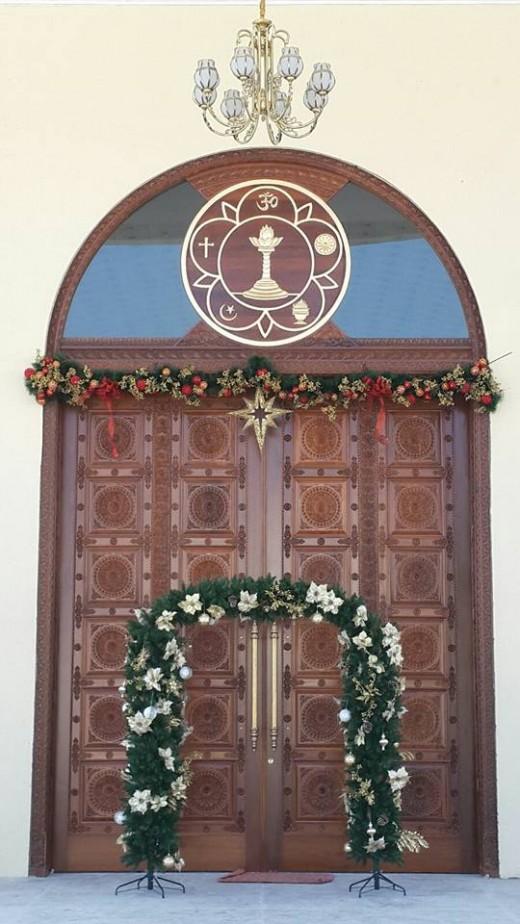 Sri Sathya Sai Premamrutham - The Main door