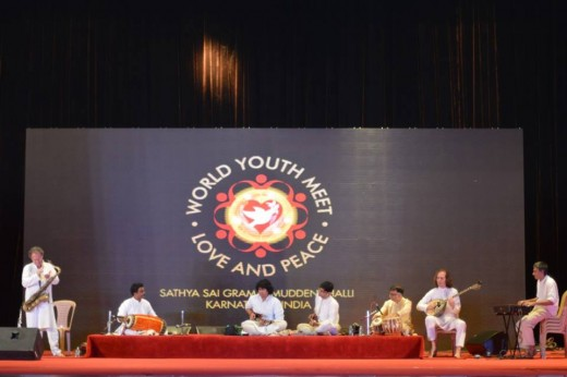 A fusion concert during the World Youth Meet