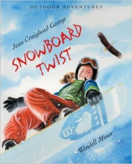 Snowboard Twist (Outdoor Adventures) by Jean Craighead George