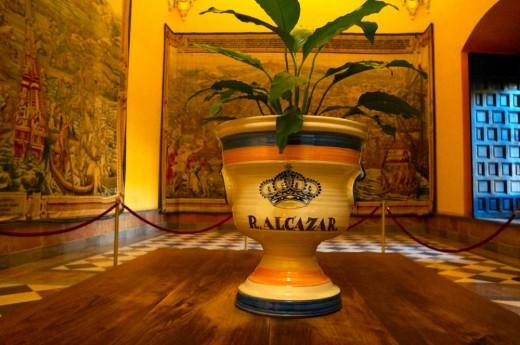 Interior of the Alcazar