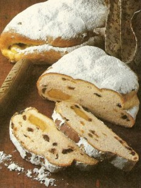 With juicy marzipan hidden inside the cake, Christmas Stollen is just the thing for the festive season.