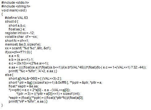 Code Sample B