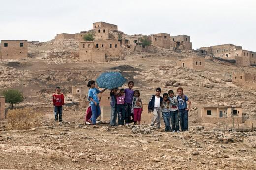 Kurdish Children in Turkey