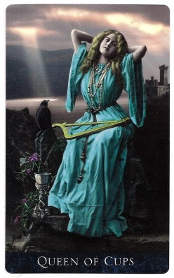 Letty's Daily Reading: The Queen of Cups