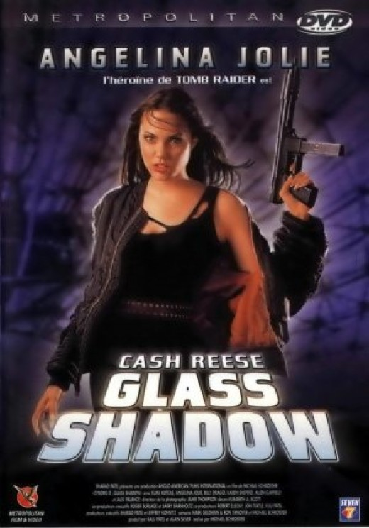 "Foreign DVD using the alternate ""Glass Shadow"" title. Any resemblance to the ""Lara Croft, Tomb Raider"" DVD cover is purely coincidence, I'm sure. (haha)"