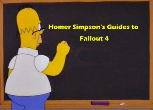 Homer Simpson's Guides to Fallout 4