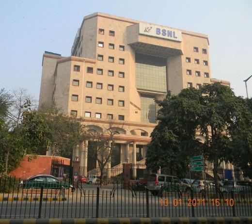BSNL company building