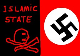 Islamic State can be compared with Nazi Germany.