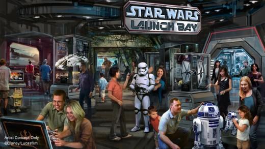 Star Wars Launch Bay at Disney World