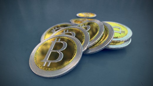 Fictional version of physical Bitcoins.