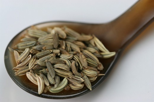 Caraway seeds can be used to make an infusion useful for easing trapped wind and colic.