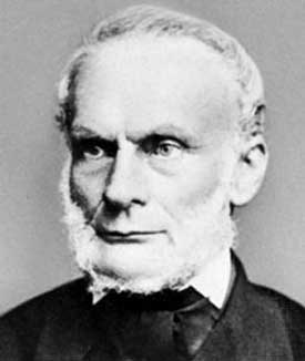 Rudolf Clausius (1822–1888), originator of the concept of entropy.