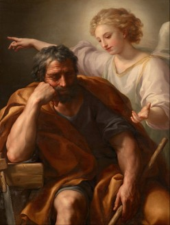 The Life of Jesus Christ, and the Art He Inspired: The Dream of St. Joseph