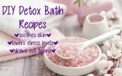 DIY | Detox Bath Recipes