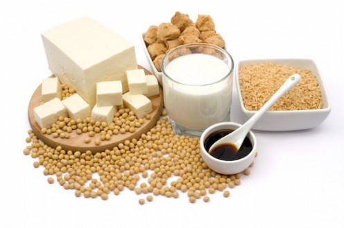 Soy nuts, soy milk, soy sauce, and tofu  - healthy, tasty favorites we can thank the soybean for...