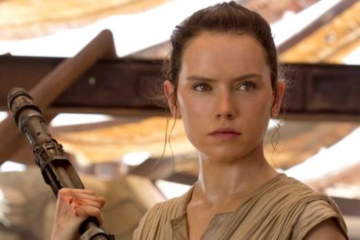 Daisy Ridley as 'Rey'