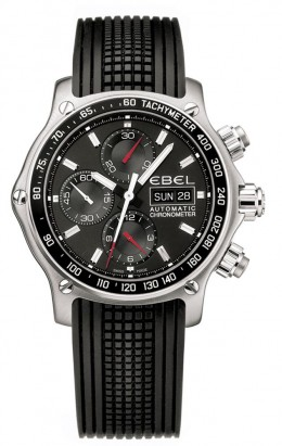 Ebel 1911 Discovery Chronograph Leather Strap