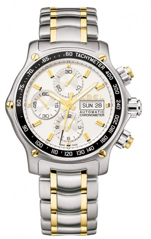 Ebel 1911 Discovery Chronograph Gold Tone