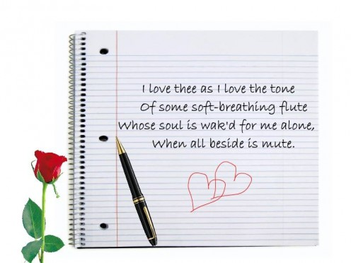 Beautiful love poem