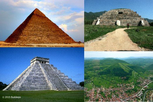 Pyramids are believed to be not older than a few thousand years. They appear to be in some cases older than 200,000 years, proven with a new mathematical theory.