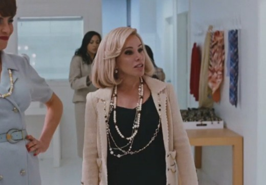 Like mother like daughter? Melissa Rivers portraying her more formative late mother Joan.