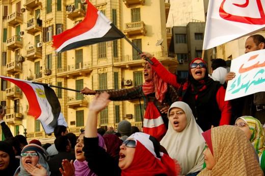 A Meeting in Cairo of the Muslim Sisterhood