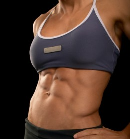 Women - Yes! It's fine for us to try to get 6 pack abs
