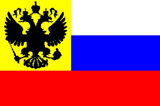 Imperial Russian Flags, 19th Century and 1914-1917