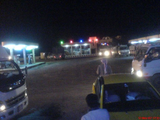 Raqqa By Night.