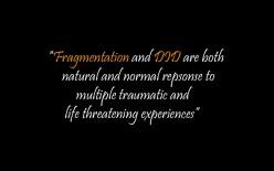 Fragmentation and Dissociative Identity Disorder