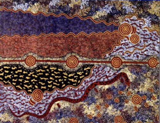 Goorialla, rainbow serpent