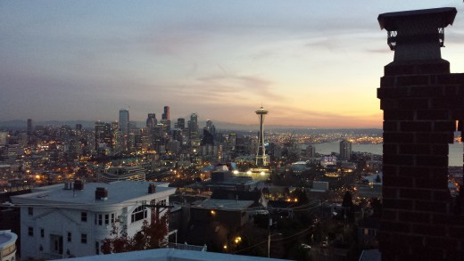 A view of Seattle,WA    This is the city I call home in Pacific North West.