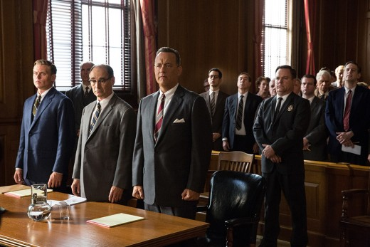 Tom Hanks reunites with Steven Spielberg for the new film Bridge of Spies, which is inspired by a gripping, true story from the Cold War.