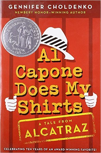 Al Capone Does My Shirts by Gennifer Choldenko - Image is from amazon.com