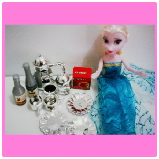 Mini Kitchenwares for dolls