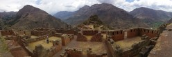 Border-line Illusions Part 2 - The Ruins of Pisac in the Beautiful Urubamba (Sacred) Valley.