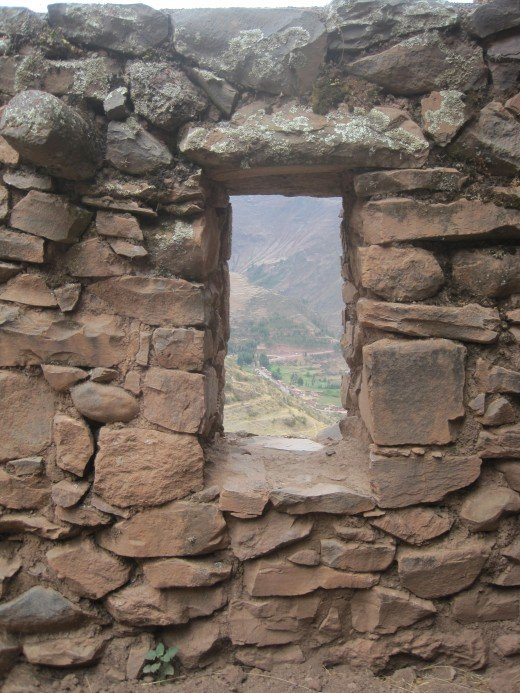 A window to the Sacred Valley.