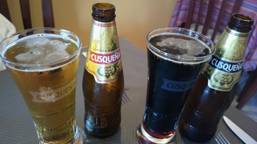 The local flavors of Cusqueña.