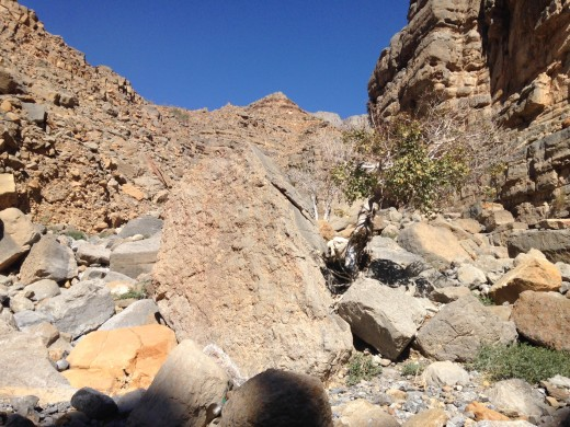 Some big boulders