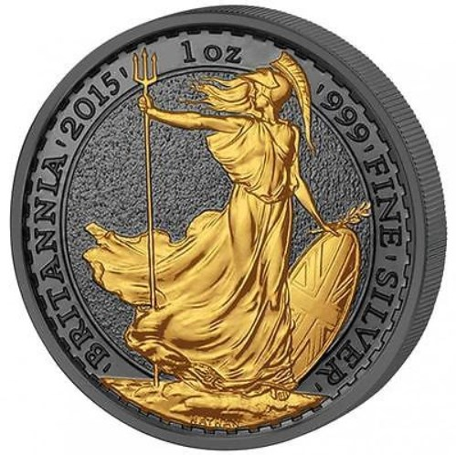 2015 1 OZ Silver United Kingdom Britannia Coin.