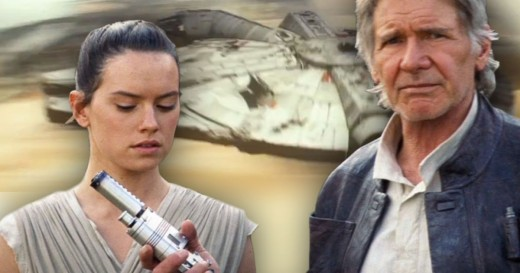 Could Rey be the daughter of Han Solo?